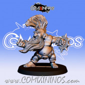 Dwarves - Resin Dwarf Troll Slayer Boss - Fanath Art