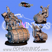 Dwarves - Metal Death Roller of Dwarf Team - Fanath Art