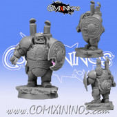 Dwarves - Steam Dwarf Player nº 2 Blocker - Scibor Miniatures