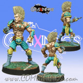 Wood Elves - Poncho Elf Lineman nº 8 - Meiko Miniatures