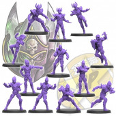 Dark Elves - Dark Elf Team of 12 Players - SP Miniaturas