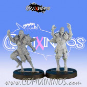 Wood / Pro Elves - Set of 2 Catchers - Black Scorpion