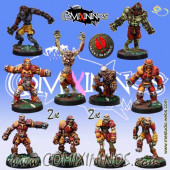 Necromantic - Team of 12 Players - Mano di Porco