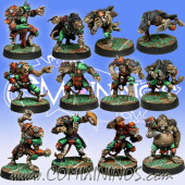 Ratmen - Team of 12 Players - Meiko Miniatures
