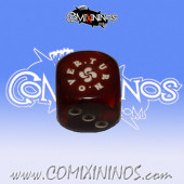Turnover Dark Red Skill Dice - Euskal