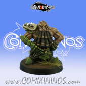 Evil Dwarves - Grim Butchers Evil Dwarf Blocker nº 1 - Goblin Guild