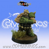 Evil Dwarves - Grim Butchers Evil Dwarf Blocker nº 3 - Goblin Guild