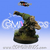 Evil Dwarves - Grim Butchers Evil Dwarf Blocker nº 4 - Goblin Guild