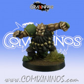 Evil Dwarves - Grim Butchers Evil Dwarf Blocker nº 6 - Goblin Guild