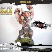 Evil Dwarves - Minotaur of Old but Gold Team - Labmasu