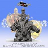 Evil Dwarves - Damned Evil Dwarf Blocker nº 2 - SP Miniaturas