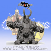 Evil Dwarves - Damned Evil Dwarf Blocker nº 4 - SP Miniaturas