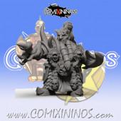 Evil Dwarves - Damned Evil Dwarf Blocker nº 5 - SP Miniaturas