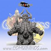 Evil Dwarves - Damned Evil Dwarf Blocker nº 6 - SP Miniaturas