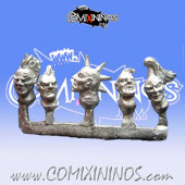 Humans / Norses / Evil Pact - Punk Heads Sprue nº 2 (5) - Neomics