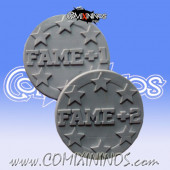 Double Sided Fame Token - Willy Miniatures
