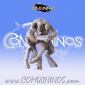 Fan nº 35 Beastmen with Goblin D - Fanath Art