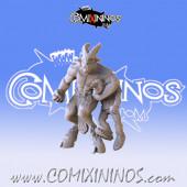 Fan nº 9 Beastmen with Goblin B - Fanath Art
