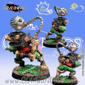 Ratmen - Fechglitz Star Player with Ball and Chain - Meiko Miniatures