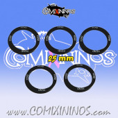 Set of 5 Fend Skill Rings for 25 mm Bases - Comixininos