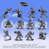 Frogmen - Frogmen Team of 12 Players - Fanath Art