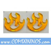 Fire Tokens (Set of 2) - Litko