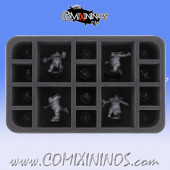 Foam Tray for GW Fire Mountain Gut Busters Ogre Team - Feldherr