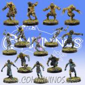 Frogmen - Deep Ones Frogmen Team of 14 Players - SP Miniaturas
