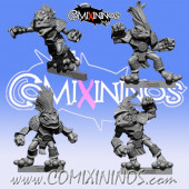 Frogmen - Set of 4 Frogmen Blitzers - Fanath Art