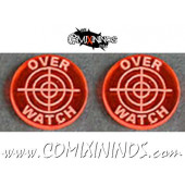 Overwatch Tokens (Set of 2) - Translucent Orange