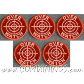 Overwatch Tokens (Set of 5) - Translucent Orange