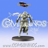 Necromantic / Undead - Underground Ghoul D - Games Miniatures