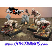 Undead / Necromantic - Set of 3 Ghouls - Heresy