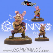 Goblins - Rabbit Hooligan Goblin - Willy Miniatures