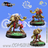 Underworld / Evil Pact - Goblin nº 2 with Two Heads - Meiko Miniatures