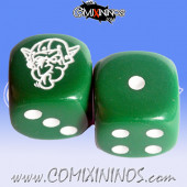 Set of 2d6 Goblin Dice - Meiko
