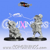 Goblins / Underworld - Set of 2 Gobfreak Popcorn Goblins - Games Miniatures