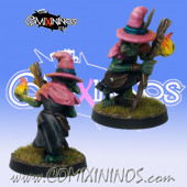 Goblins / Underworld - Goblin Witcher Crow Wizard - Goblin Guild