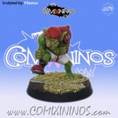Goblins - Goblin nº 9 Dirty Player - Willy Miniatures