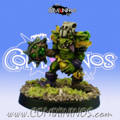 Goblins - Green Ratz Goblin Brass Knuckle Chainsaw - Goblin Guild