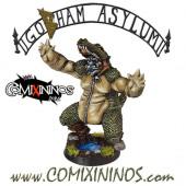 Big Guy - Troll nº 2 Croc of Gobham Asylum Team - Labmasu