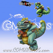Lizardmen - Godzi Baby Lizard - Maow Miniatures