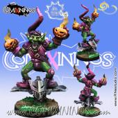 Goblins - Green Goblin Bombardier - Meiko Miniatures