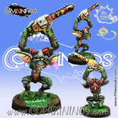 Goblins - Gremlin Looney with Chainsaw - Meiko Miniatures
