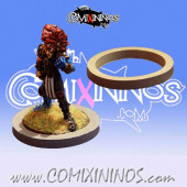 Skill Marker - Grey Rubber Deluxe Ring for 25 mm Bases - Comixininos