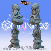 Halflings - Halfling Cheerleaders Chicken Devourers - SP Miniaturas