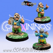 Halflings - Halfling Coach Del Bosque - Willy Miniatures