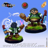 Halflings - Halfling Fan with Sandwich - Mano di Porco