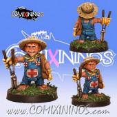 Halflings - Halfling Treeman Apothecary Gardener -  Willy Miniatures