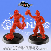 Kislev Circus - Set of 2 Slavic Throwers - Hexy Store